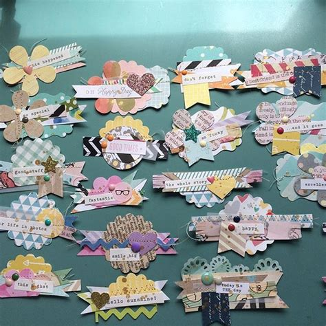 paper crafts and scrapbooking best 25 scrapbook embellishments ideas on
