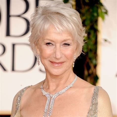 helen mirren cuts hair elegant hairstyles how to get helen mirren s golden globes hairstyle