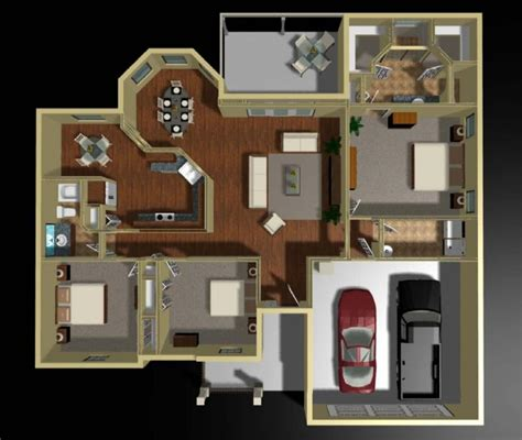 hennessey house 7805 4 bedrooms and 4 baths house plans photos