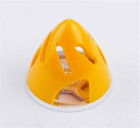 Hi Mm Yellow Airplane 2621 遉82mm aluminum abs hollow carved spinner for 2 blade
