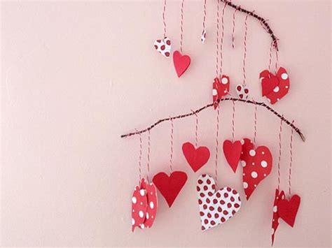 Paper Hearts Craft - craft valentine s paper mobile we stuff