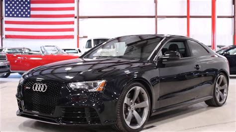Audi Rs5 Schwarz by 2013 Audi Rs5 Black Youtube