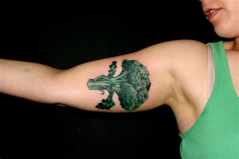 broccoli tattoos pinterest