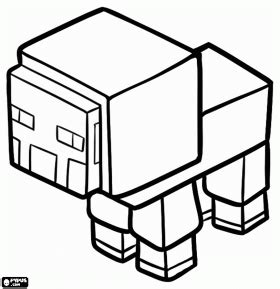 minecraft chicken coloring page a minecraft sheep coloring page aww pinterest