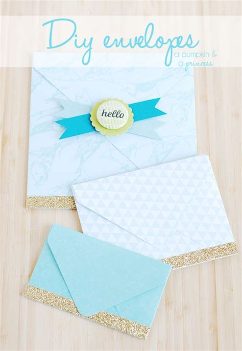 how to make your own envelope diy envelopes