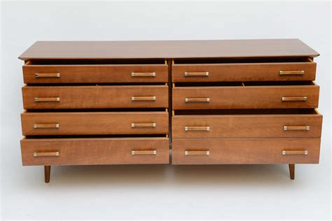 renzo rutili 50s modern dresser for johnson furniture at