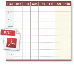 free weekly calendars 2015 2017 5 day week calendar by month monday