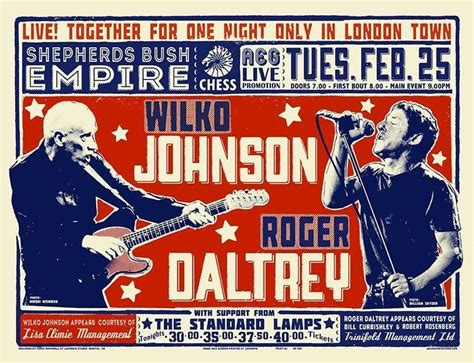 the ticket to tomorrow books modernist society win tickets to see roger daltrey
