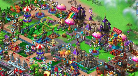 theme park game online zynga s new theme park game coasterville goes live today