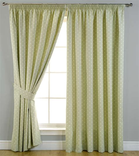polka dot blackout curtains polka dot ready made blackout lined pencil pleat spotted