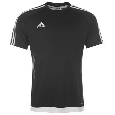 t shirt adidas adidas 3 stripe estro t shirt football