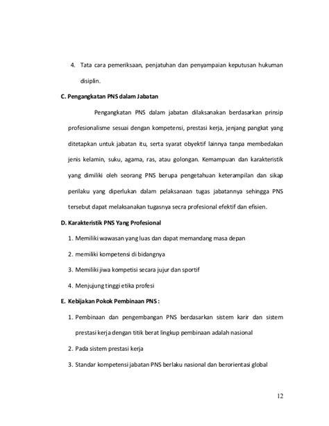 format makalah kenaikan pangkat pns makalah etika provesi pns