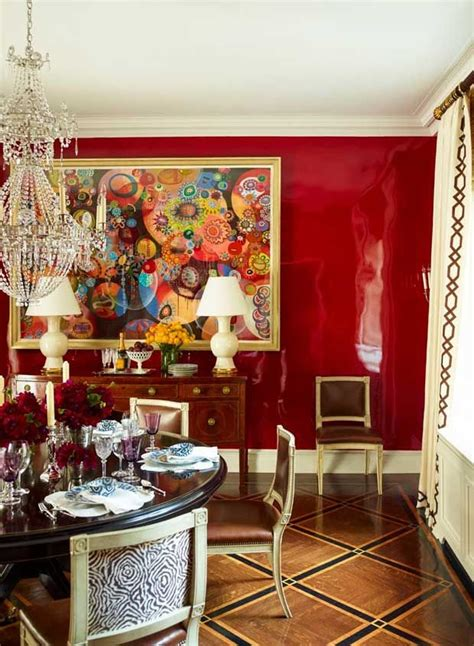 red dining room walls 37 best images about dark table light chairs on
