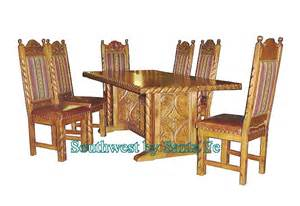 Southwestern Dining Room Furniture Dining Table Southwestern Style Dining Table