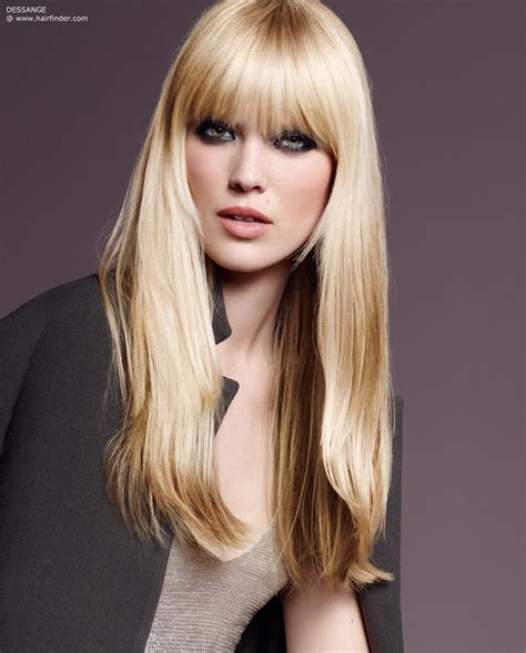 hairstyles with layers around the face long hairstyle with bangs and layers around the face