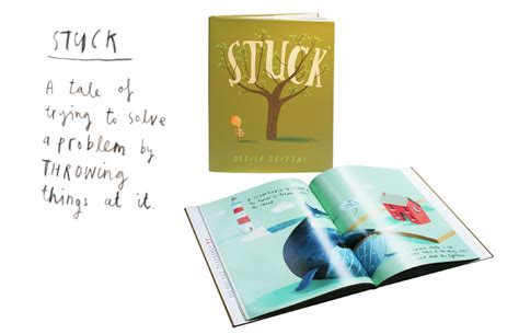 stuck picture book oliver jeffers picture books