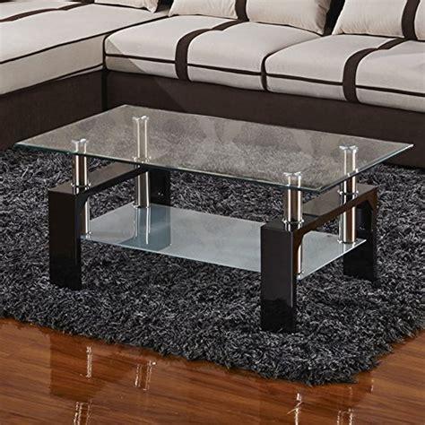 virrea rectangular glass coffee table virrea glass coffee table shelf chrome base living room