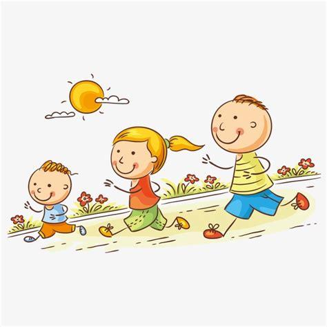 imagenes niños corriendo un ni 241 o corriendo personaje la gente de ilustraci 243 n