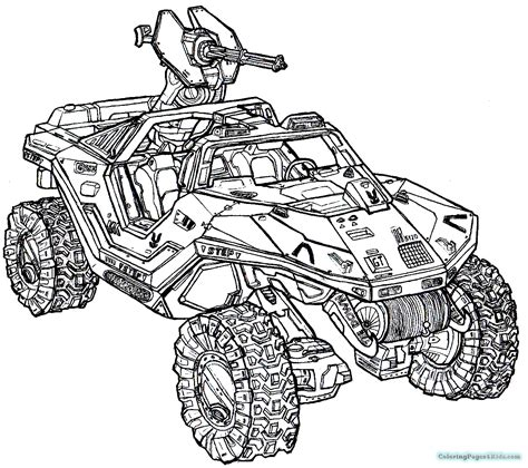 Halo 4 Coloring Pages Coloring Pages For Kids Coloring Pages 4