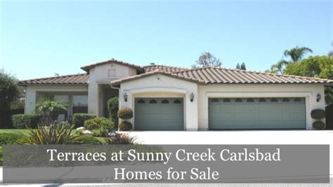 terraces at creek carlsbad homes for sale