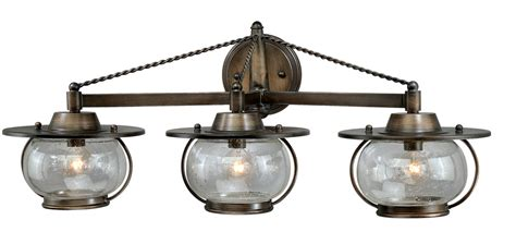 Western Vanity Lights by Wagon Wheel Chandeliers 3 Light Western Rustic Vanity