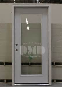 Metal Exterior Doors With Glass 1 Lite Clear Glass Steel Exterior Door 6 8 Door And