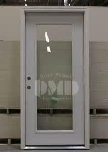 Steel Entry Doors Glass 1 Lite Clear Glass Steel Exterior Door 6 8 Door And Millwork Distributors Inc Chicago