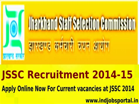 to apply for at 15 notification for jssc recruitment 2014 15 apply