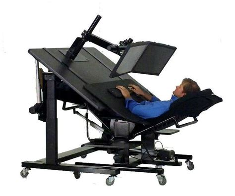 reclining workstation 100 computer recliner workstation reclining