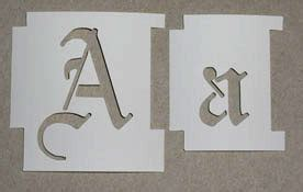 how stencil sizes are determined