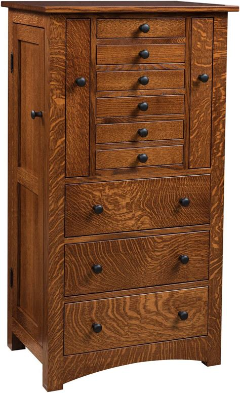 mission jewelry armoire bedroom jewelry armoires brandenberry amish furniture