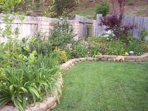garden in backyard landscaping on pinterest small backyards backyards and