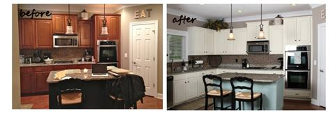 repainting kitchen cabinets before and after kitchen cabinet refinishing st louis america west