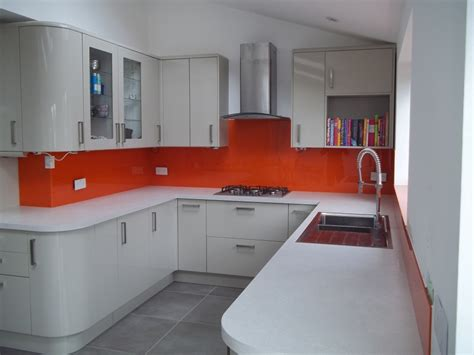 ideas for kitchen splashbacks glass splashback ideas for your kitchen bespoke glass design