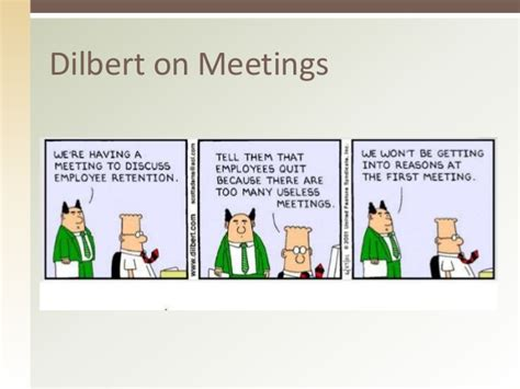 Chairing Effective Meetings by Running Effective Meetings