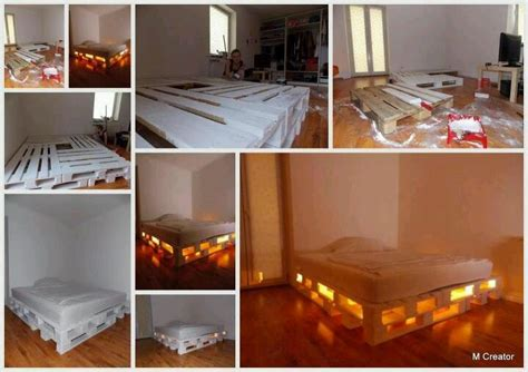 Lighted Bed Frame Lighted Bed Frame Bed Bed Frame Frames And