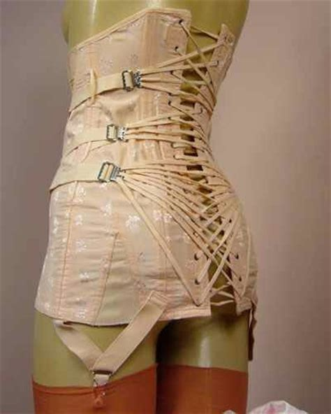 girdle fitting room vintage corset how could they even get these done up those were the days