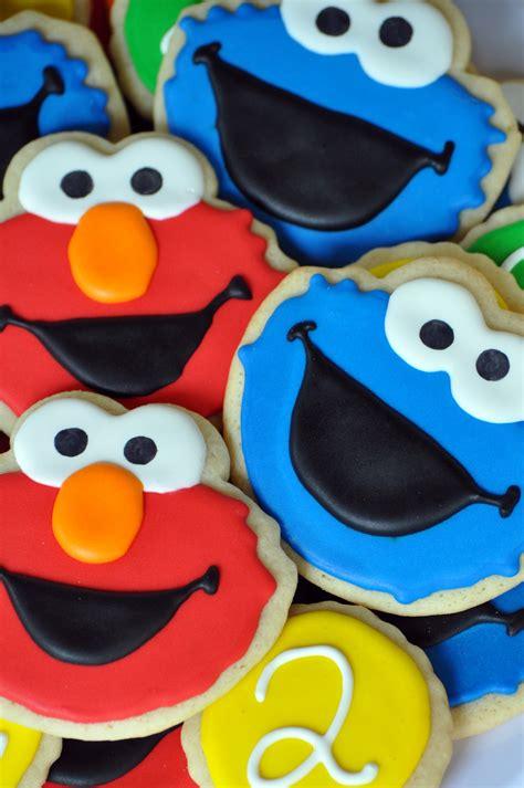 sesame street cookies sweet elizabeth