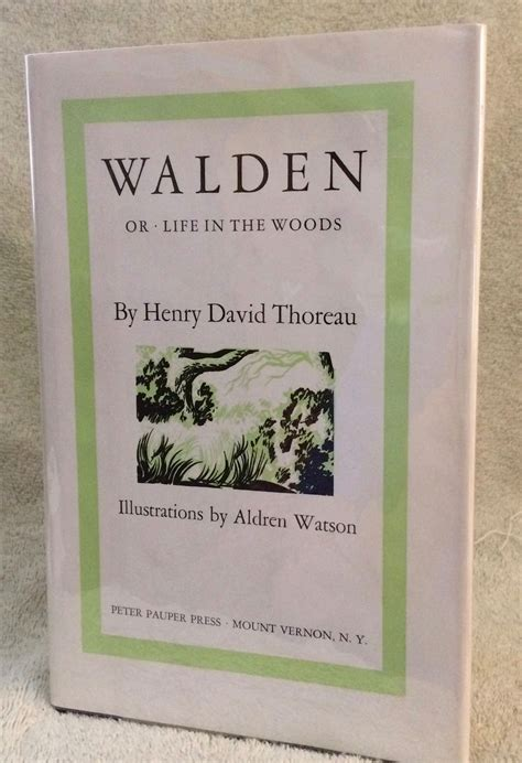 walden book advance walden or in the woods by henry david illustrations