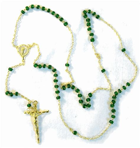 free rosary rosary from italy with free vatican postcard and