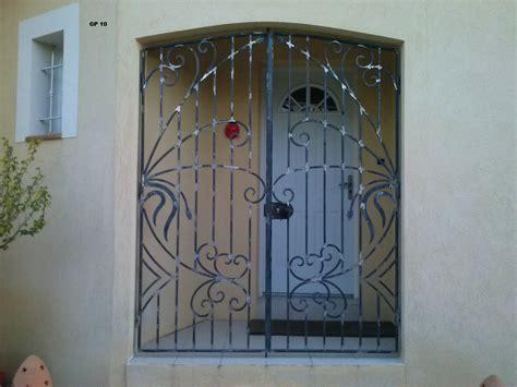 Decoration Des Portes En Fer by Porte En Fer Forge Maison Porte En Fer