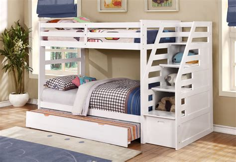 size bunk bed with trundle room bunk bed with trundle and storage steps