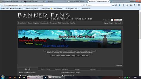 membuat opening video secara online membuat banner blog secara online dan mudah febriantoace
