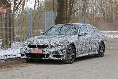 Bmw 3er Modellwechsel by Spyshots 2019 Bmw 3 Series Shows Baby 5 Series Look With