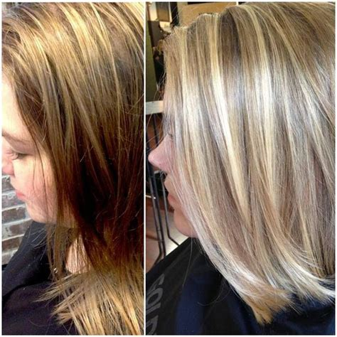 should wash hair before bayalage balayage before and after by olive at city salon and spa