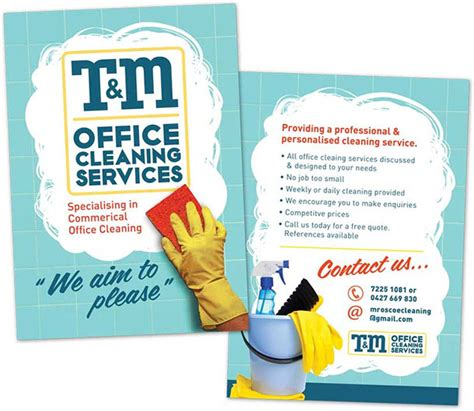 cleaning services advertising templates comment faire des flyers staprint fr