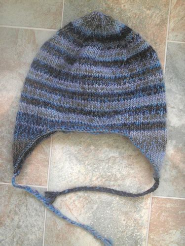 earflap hat knitting pattern knitted earflap hat pattern free patterns