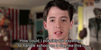 Ferris Bueller Price 12 Signs Your Is Suffering From Senioritis