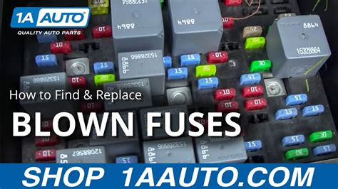 find  replace  blown fuse   car  truck