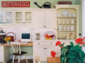 decorating ideas for a kitchen 10 ideas for decorating above kitchen cabinets hgtv
